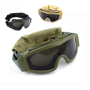 Óculos GX 1000 com 3 lentes