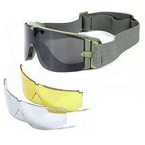 Óculos Safety, Próprio para Óculos de Grau