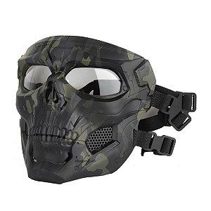 Máscara de Proteção Airsoft, Esqueleto