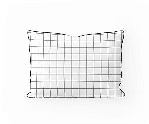 Almofada cabeceira Grid