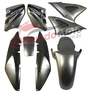 Kit Carenagem Adesivada Honda CBX 250 Twister 2007 Prata - Sportive