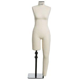Manequim Feminino Clássico - Modelo Perna Inteira