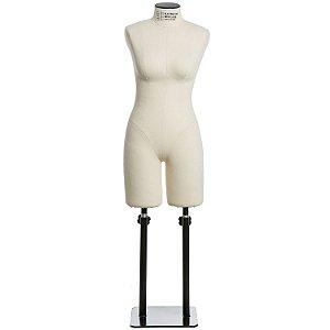 Manequim Feminino de costura para moulage - Clássico - Modelo Meia Coxa