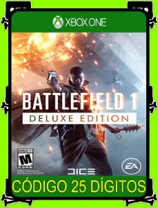 Battlefield 1 Deluxe Xbox One - 25 Dígitos