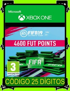 4600 Fifa Points 2019 Xbox One - 25 Dígitos