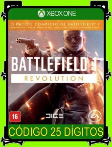 Battlefield 1 Revolution Xbox One - 25 Dígitos