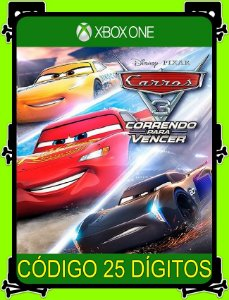 Carros 3 Correndo para Vencer Xbox One - 25 Dígitos
