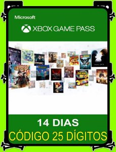 Game Pass 14 Dias
