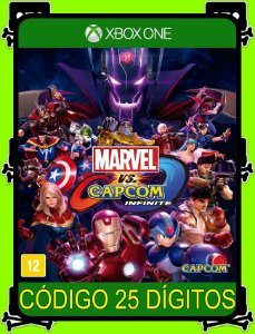 Marvel vs. Capcom Infinite - Xbox One 25 Dígitos