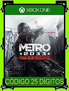 Metro 2033 Redux - Xbox One 25 Dígitos