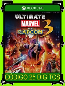 Ultimate Marvel vs Capcom 3 - Xbox One 25 Dígitos