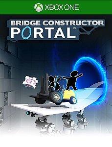 Bridge Constructor Portal Xbox One- 25 Dígitos