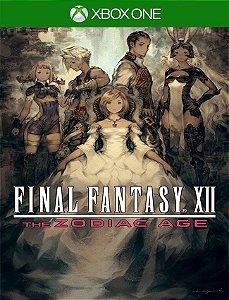 Final Fantasy Xii Zodiac Age Xbox - 25 Dígitos