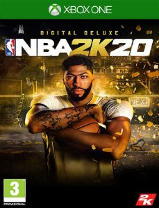 Nba 2k20 Deluxe Xbox One - 25 Dígitos