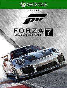Forza 7 Motorsport Deluxe Xbox One - 25 Dígitos