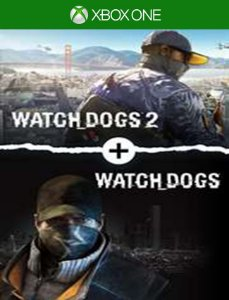 Watch Dogs + Watch Dogs 2 Gold Xbox - 25 Dígitos