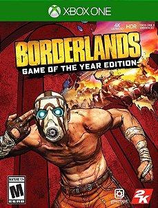 Borderlands Goty Xbox One - 25 Dígitos