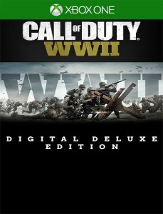 Call Of Duty Wwii Deluxe Xbox One - 25 Dígitos
