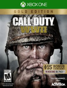 Call Of Duty Wwii Gold Xbox One - 25 Dígitos