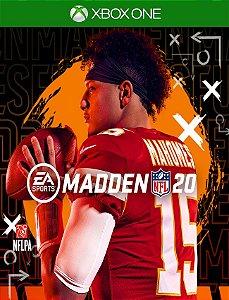Madden Nfl 20 Xbox One - 25 Dígitos
