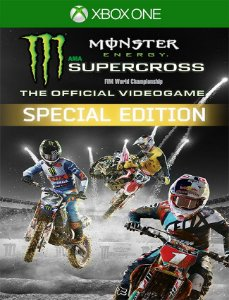 Monster Energy Supercross Special Xbox - 25 Dígitos