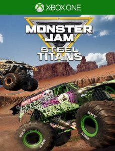 Monster Jam Steel Titans Xbox One - 25 Dígitos