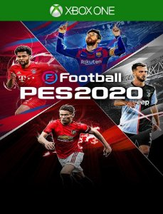 Efootball 2020 Pes 20 Xbox One - 25 Dígitos