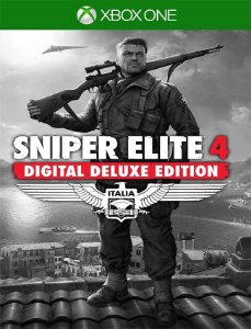 Sniper Elite 4 Deluxe Xbox One - 25 Dígitos