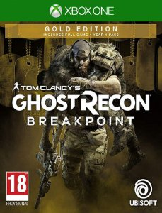 Tom Clancys Ghost Recon Breakpoint Gold Xbox One - 25 Dígitos