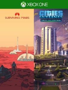 Cities Skylines + Surviving Mars - Xbox One 25 Dígitos