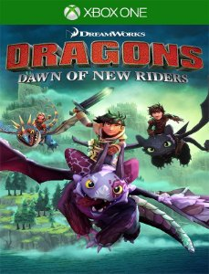 DreamWorks Dragons Dawn of New Riders - Xbox One 25 Dígitos