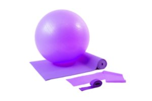 Kit yoga/pilates Roxo 500103