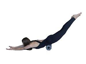 Rolo de Massagem e liberação miofascial - Preto e branco 40408033