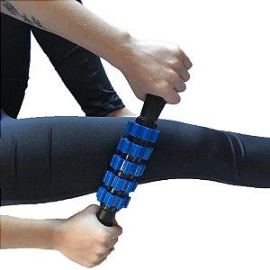 Bastão de massagem e liberação miofascial - Azul 4040015