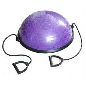 Meia bola + Puxador corda Roxo 40301