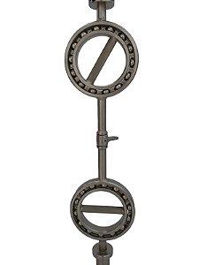 Barra Olímpica 5cm com pegador giroscópico 360º 88121050