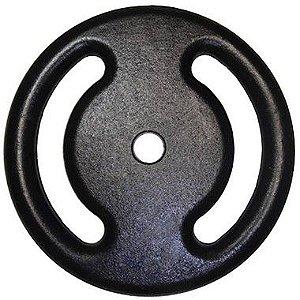 Anilha de ferro pintada de 15kg 10110018