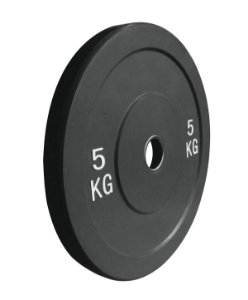 Anilha de ferro fundido Bumper Plate 5kg 10100105