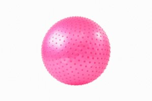 Bola de yoga/pilates massageadora 65cm 5000365