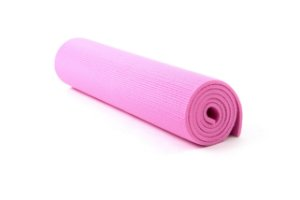 Tapete yoga/pilates rosa 1cm 5000110