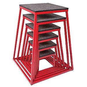Kit de caixas de salto metal de 12, 18, 24, 30, 36 e 42 polegadas 7000200