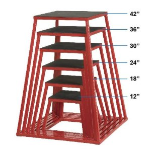 Caixa de salto de metal de 36 polegadas 7000236