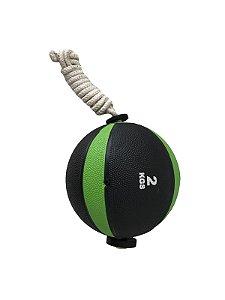 Medicine ball com corda de 2kg 7101002
