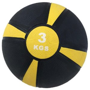 Medicine ball emborrachada de 3kg 7100403