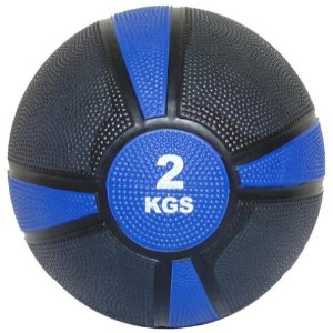 Medicine ball emborrachada de 2kg 7100402