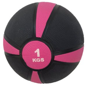 Medicine ball emborrachada de 1kg 7100401
