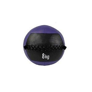 Medicine ball em PU de 8kg 7700108
