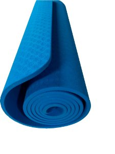 Tapete yoga/pilates azul 0,7cm 5113