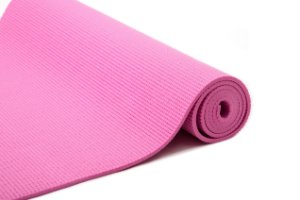 Tapete yoga/pilates rosa 0,6mm 5112