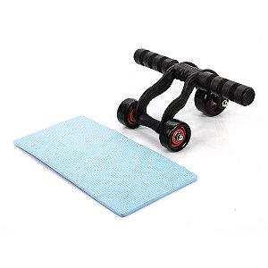 Roda de abdominal com 3 rodas 5555014